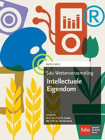 Sdu Wettenverzameling Intellectuele Eigendom 2017