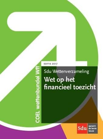 Sdu Wettenverzameling Wet op het financieel toezicht 2017