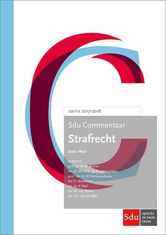 Sdu Commentaar Strafrecht Editie 2017-2018