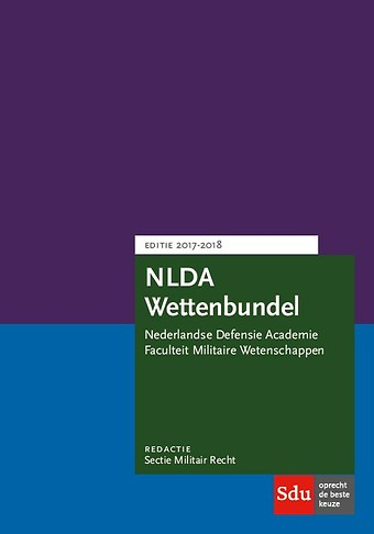 NLDA Wettenbundel Militair Recht 2017-2018
