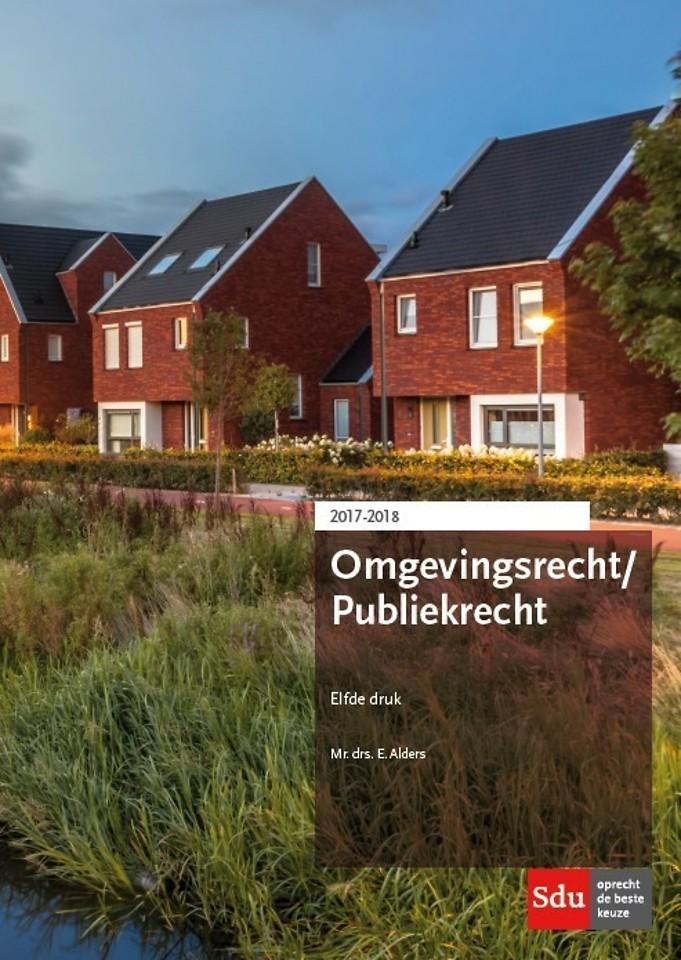 Omgevingsrecht / Publiekrecht 2017-2018