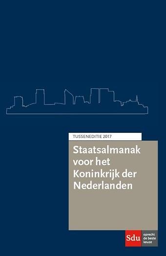 Staatsalmanak voor het Koninkrijk der Nederlanden - Tusseneditie 2017