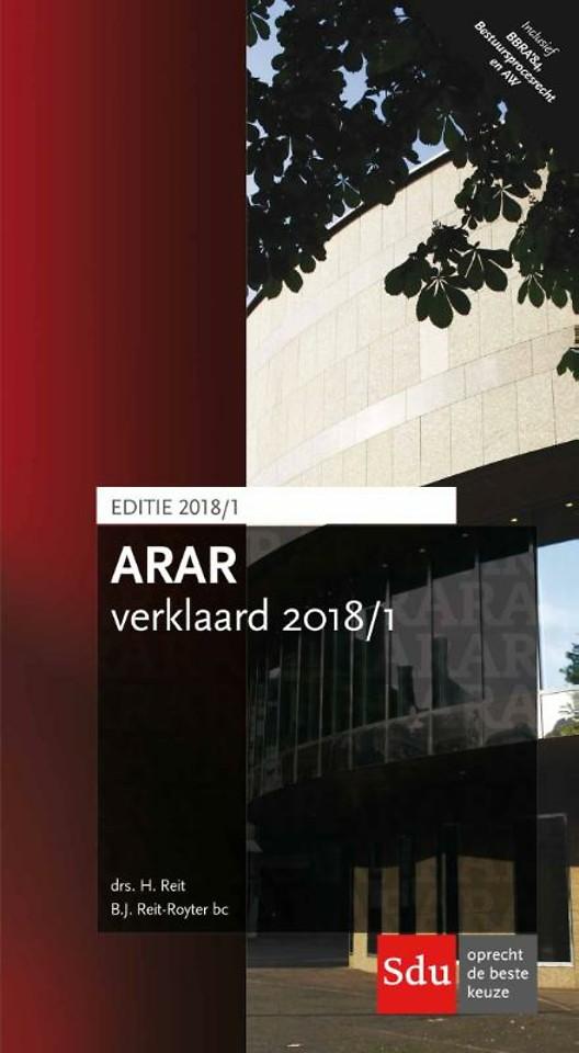 ARAR verklaard 2018/1