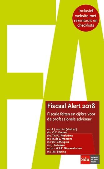 Fiscaal Alert 2018