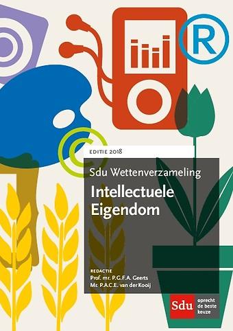 Sdu Wettenverzameling Intellectuele Eigendom 2018