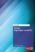 Teksten Regelingen Leerplicht - editie 2018