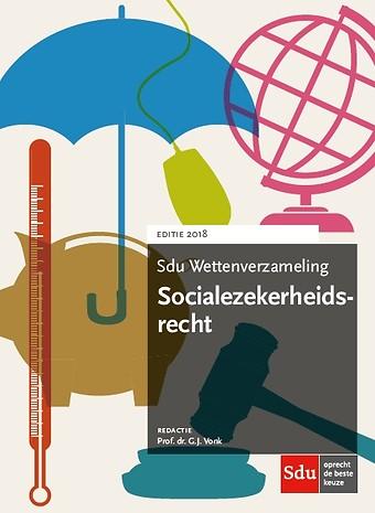 Sdu Wettenverzameling Socialezekerheidsrecht 2018
