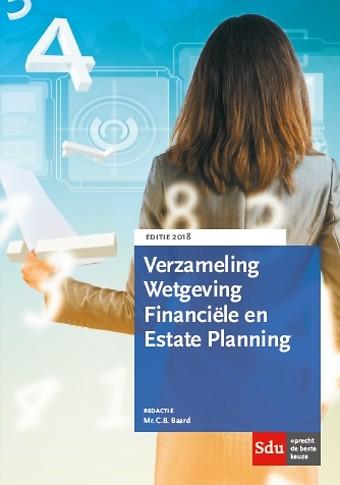 Verzameling Wetgeving Financiële en Estate Planning 2018