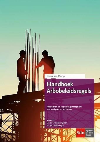 Handboek Arbobeleidsregels - Editie 2018/2019