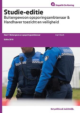 Studie-editie Buitengewoon opsporingsambtenaar en Handhaver Toezicht en Veiligheid (delen BOA en HTV) - Set