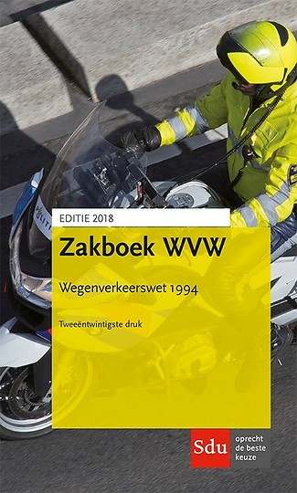 Zakboek WVW - Wegenverkeerswet 1994 - Editie 2018