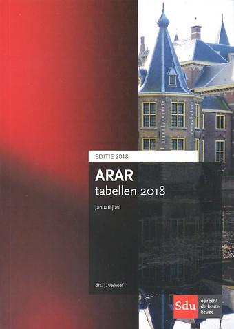 ARAR tabellen januari-juni 2018