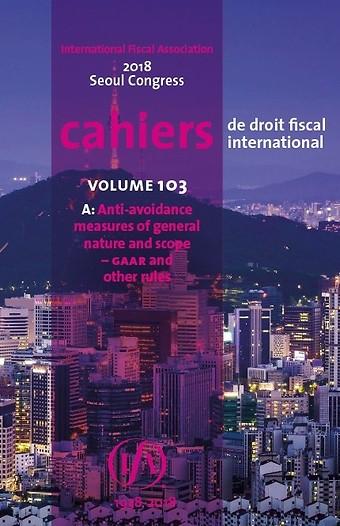 IFA Cahier Volume 103a (2018)