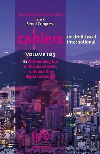 IFA Cahier Volume 103b (2018)