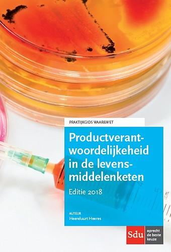 Productverantwoordelijkheid in de levensmiddelenketen - Editie 2018