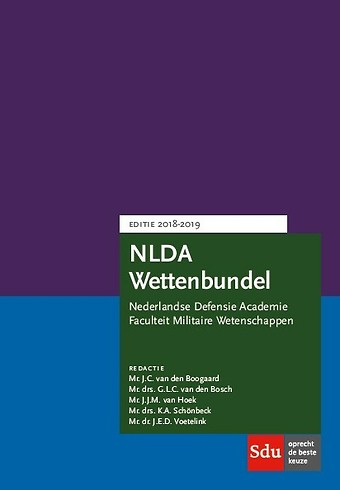 NLDA Wettenbundel Militair Recht 2018-2019