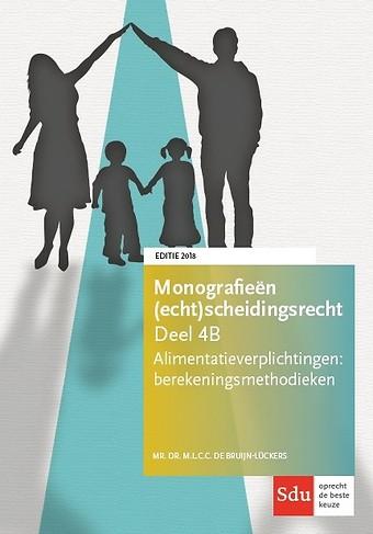 Alimentatieverplichtingen: berekeningsmethodieken - editie 2018