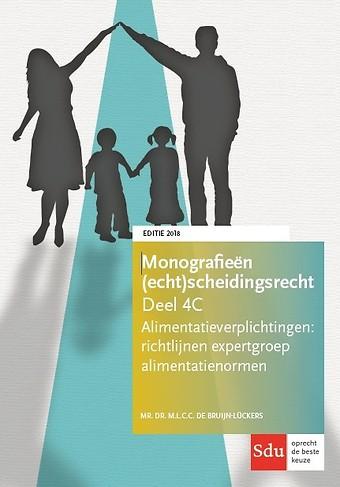 Alimentatieverplichtingen: richtlijnen expertgroep alimentatienormen - editie 2018
