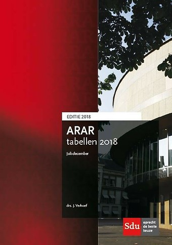 ARAR tabellen juli-december 2018