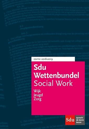 Sdu Wettenbundel Social Work 2018-2019
