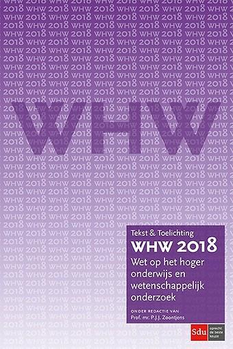 WHW 2018 - Wet op het hoger onderwijs en wetenschappelijk onderzoek
