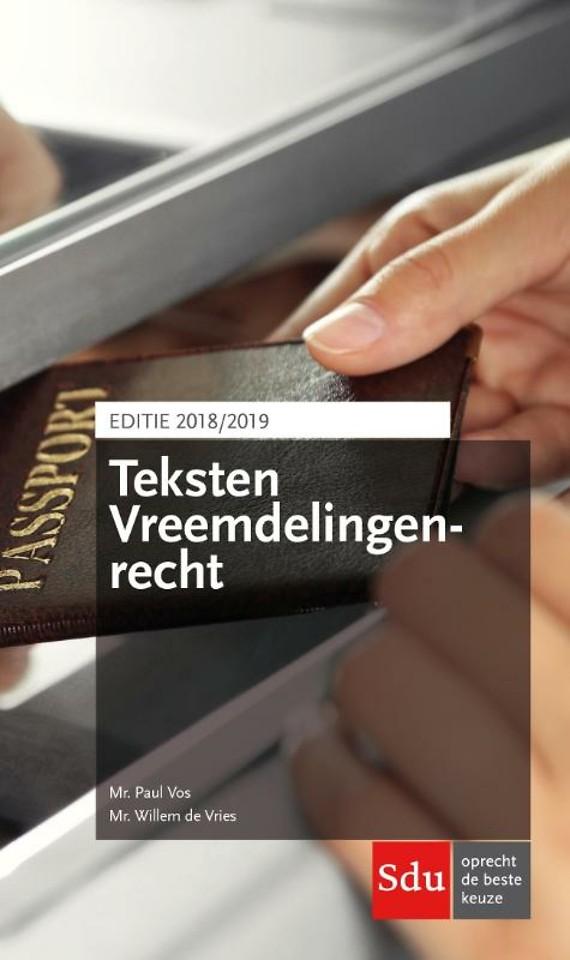 Teksten Vreemdelingenrecht - Editie 2018-2019