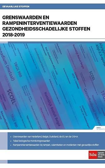 Grenswaarden en rampeninterventiewaarden gezondheidsschadelijke stoffen 2018-2019
