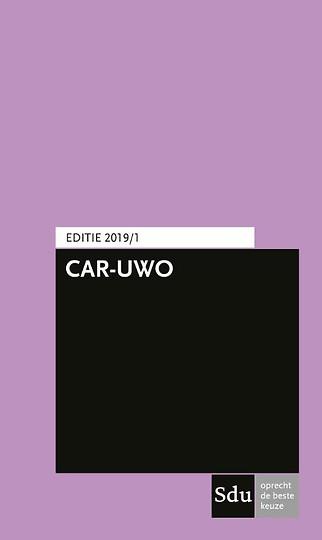 CAR-UWO 2019/1