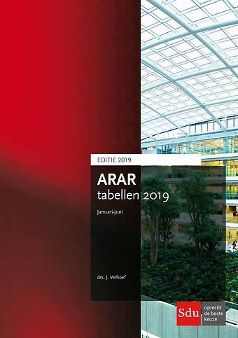 ARAR tabellen januari - juli 2019