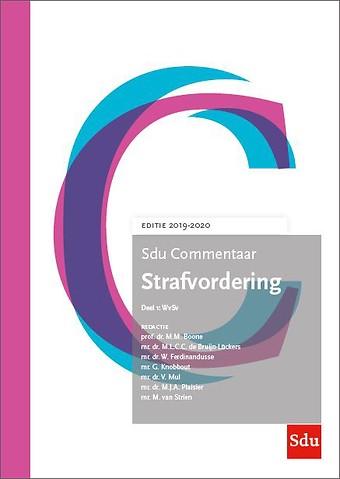 Sdu Commentaar Strafvordering - Editie 2019-2020 (set)
