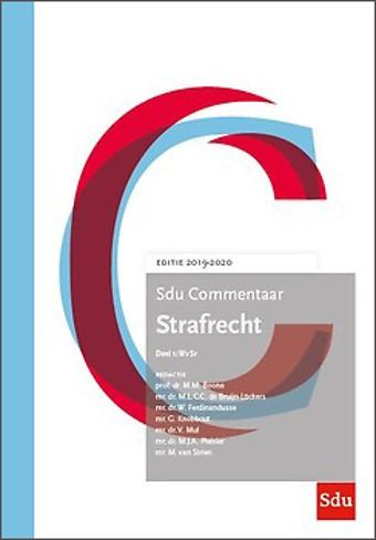 Sdu Commentaar Strafrecht. Editie 2019-2020