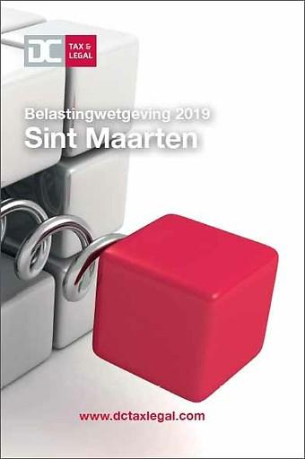 Belastingwetgeving 2019 Sint Maarten