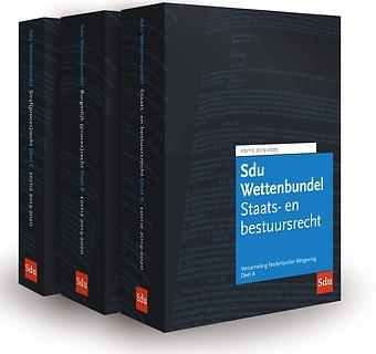 Sdu Wettenbundel 2019-2020 (vh Blauwe VNW)
