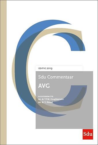 Sdu Commentaar AVG - Editie 2019