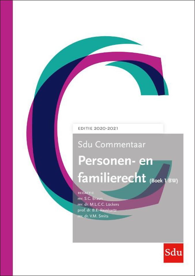 Sdu Commentaar Personen- en Familierecht (Boek 1 BW) - Editie 2020-2021