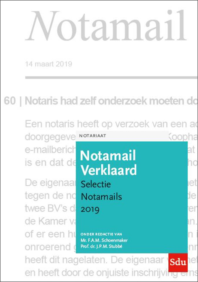 Notamail Verklaard