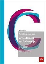 Sdu Commentaar Arbeidsrecht Artikelsgewijs - Editie 2019