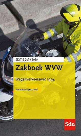 Zakboek WVW - Wegenverkeerswet 1994 - Editie 2019/2020