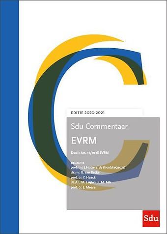Sdu Commentaar EVRM 2020-2021