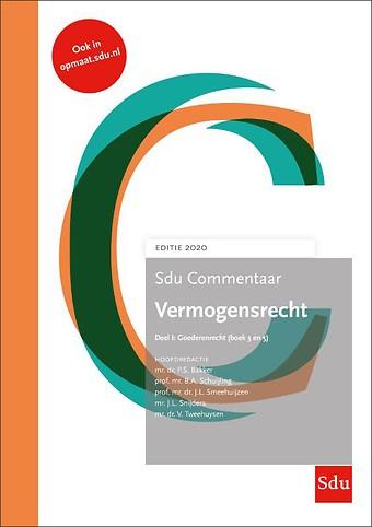 Sdu Commentaar Vermogensrecht 2020