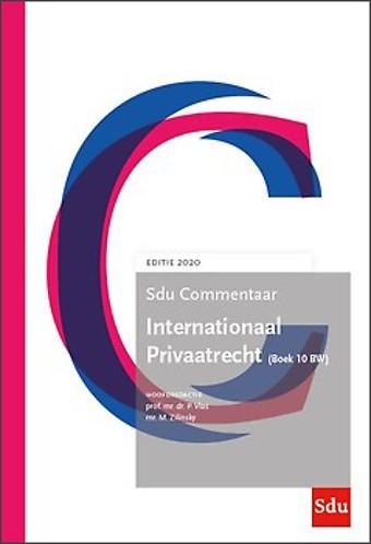 Sdu Commentaar Internationaal Privaatrecht (Boek 10 BW) - Editie 2020