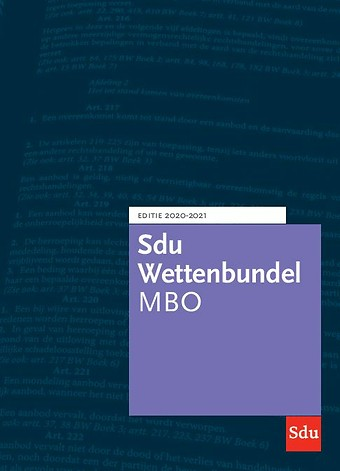 Sdu Wettenbundel MBO 2020-2021