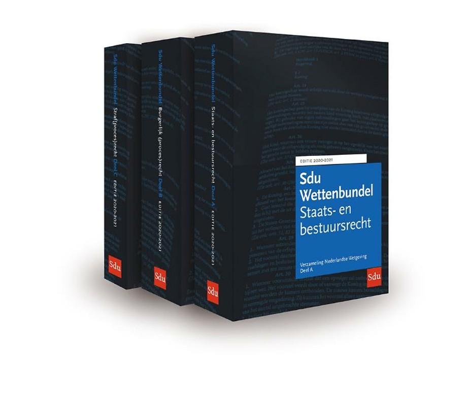 Sdu Wettenbundel 2020-2021 (vh Blauwe VNW)