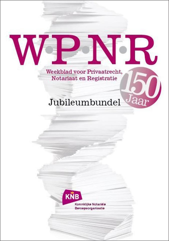 WPNR Jubileumbundel 150 jaar