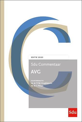 Sdu Commentaar AVG - Editie 2020