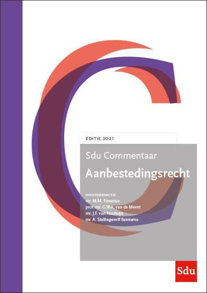 Sdu Commentaar Aanbestedingsrecht - Editie 2021