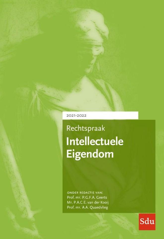 Rechtspraak Intellectuele Eigendom 2021-2022