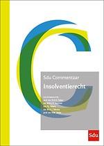 Sdu Commentaar Insolventierecht - Editie 2021