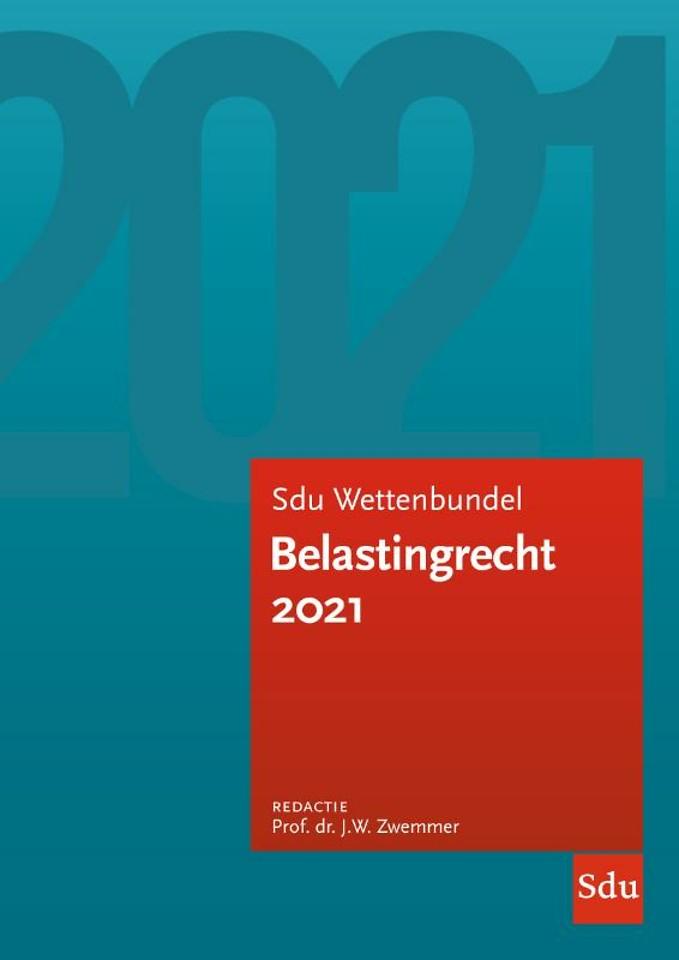 Sdu Wettenbundel Belastingrecht 2021