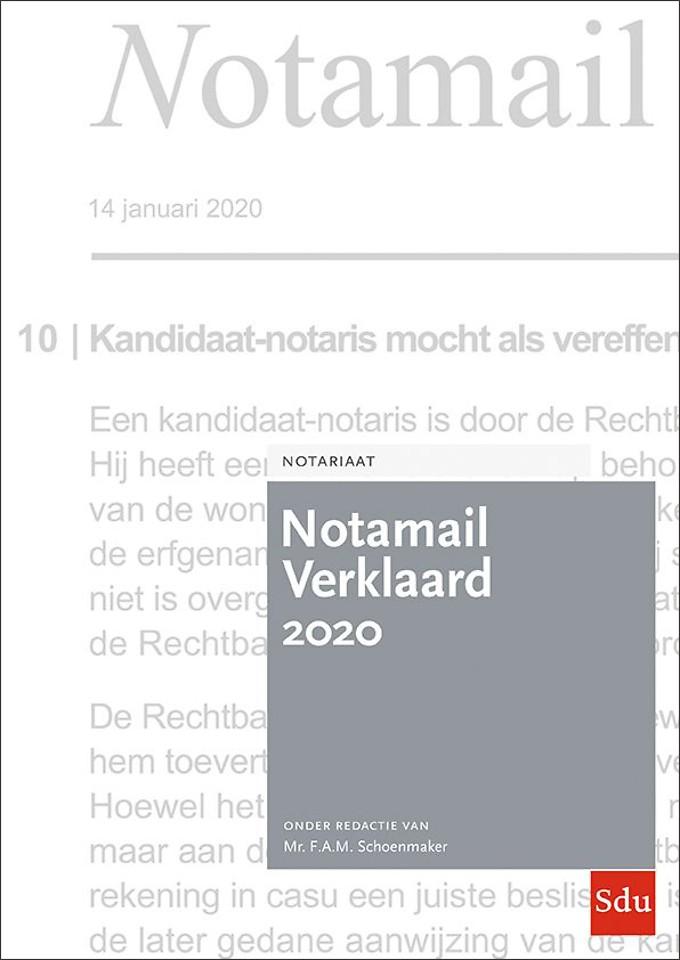 Notamail Verklaard 2020